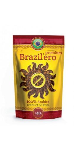 Растворимый кофе Brazil`ero Premium 140g
