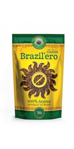 Растворимый кофе Brazil`ero Classic 70g