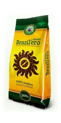 Растворимый кофе Brazil`ero Classic 500g