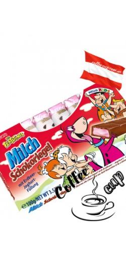 Шоколад Maître Truffout Hello Kids с йогуртом молочный 100g