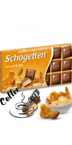 Шоколад Schogetten Almond Brittle 100g