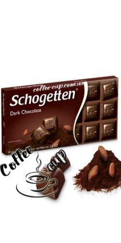 Шоколад Schogetten Dark Chocolate 100g