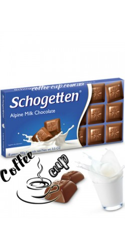 Шоколад Schogetten Alpine Milk Chocolate 100g