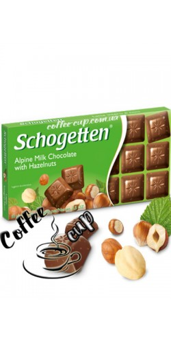 Шоколад Schogetten Alpin Milk Hazelnuts 100g
