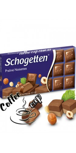 Шоколад Schogetten Praline Noisettes 100g