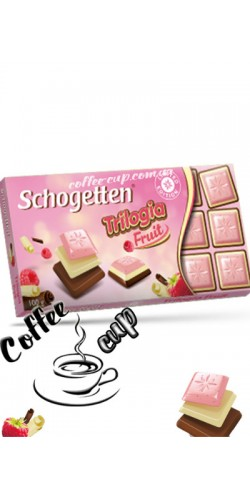 Шоколад Schogetten Trilogia Fruit 100g