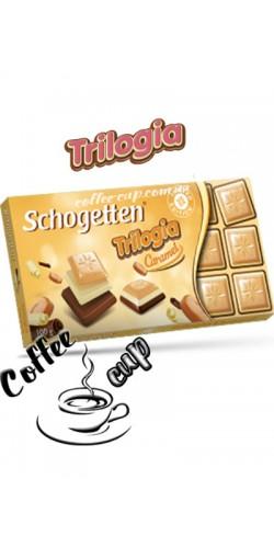 Шоколад Schogetten Trilogia Caramel 100g