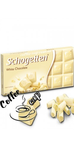Шоколад Schogetten White Chocolate 100g