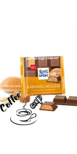 Шоколад Ritter Sport Karamell-Mousse 100g