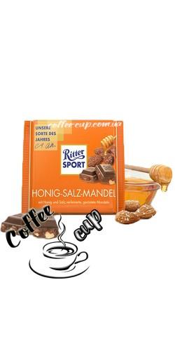 Шоколад Ritter Sport Honig-Salz-Mandel 100g