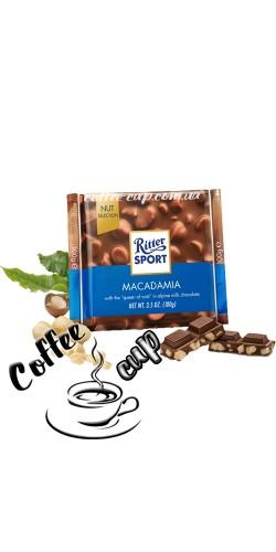 Шоколад Ritter Sport Macadamia 100g