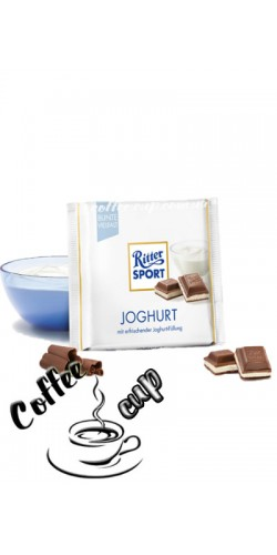 Шоколад Ritter Sport Joghurt 100g