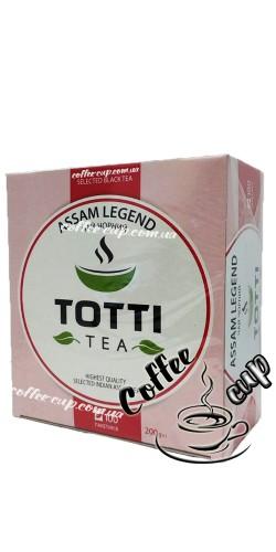 "Чай TОТТІ Теа  Assam Legend ""Легендарный Ассам"" черный 100пак"