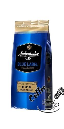 Кофе Ambassador Blue Label в зернах 1кг