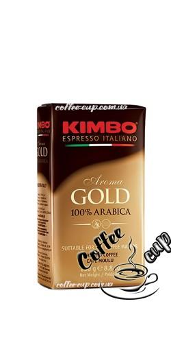 Кофе Kimbo Aroma Gold 100% Arabica молотый 250 гр
