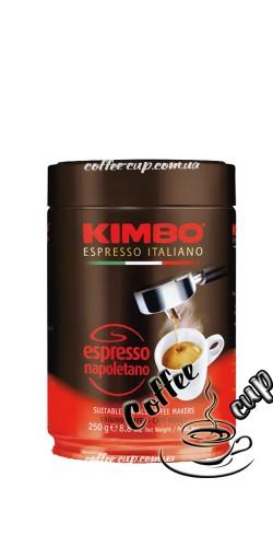 Кофе Kimbo Espresso Napoletano молотый 250 гр (ж/б)
