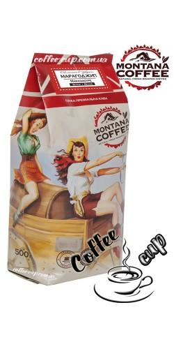 Кофе Montana Марагоджип в зернах 500гр