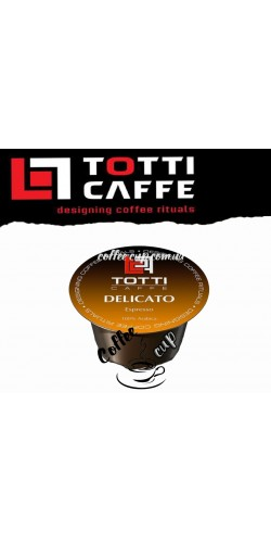 Кофе в капсулах Totti Caffe Delicato 100шт