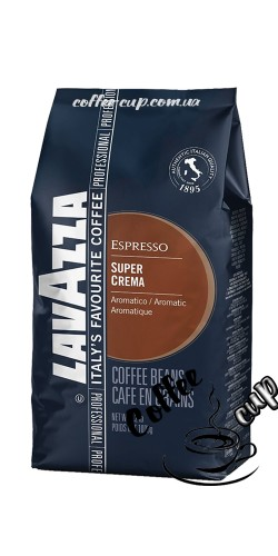 Lavazza Super Crema в зернах 1кг