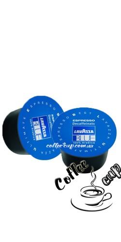 Кофе в капсулах LAVAZZA Blue Espresso Decaffeinato (без кофеина) 100 шт