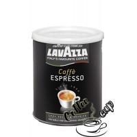 Lavazza Caffe Espresso молотый в ж/б 250g