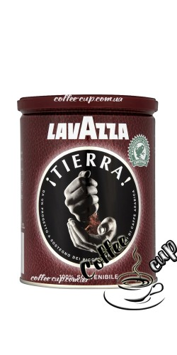 Lavazza Tierra 250г, ж/б