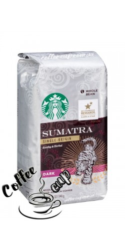 Кофе Starbucks Dark Sumatra в зернах 340гр