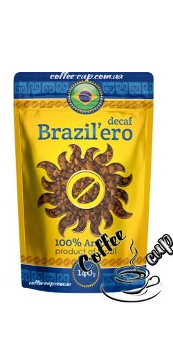 Растворимый кофе Brazil`ero Decaf 140g