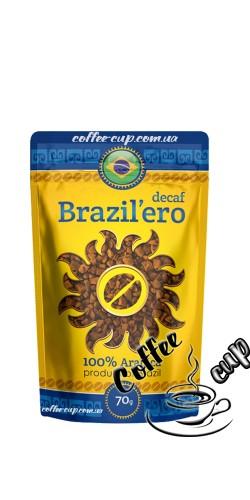 Растворимый кофе Brazil`ero Dek 70g
