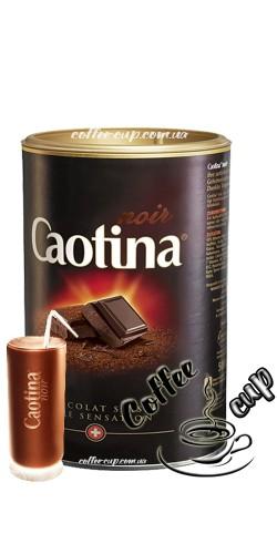 Горячий темный шоколад Caotina noir 500g