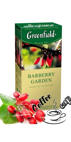 Чай Greenfield Barberry Garden черный 25 пак
