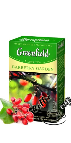 Чай Greenfield Barberry Garden черный 100g