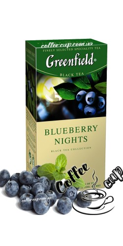 Чай Greenfield Blueberry Night черный 25 пак