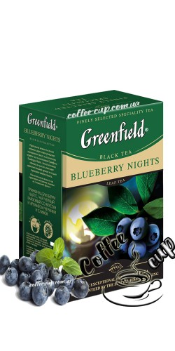 Чай Greenfield Blueberry Night черный 100g