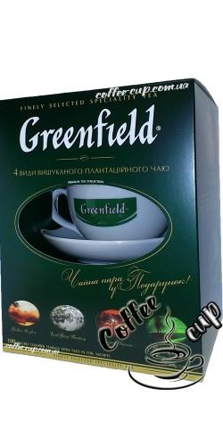 Подарочный набор Чай Greenfield с чашкой