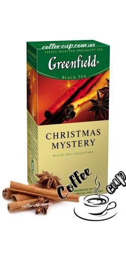 Чай Greenfield Christmas Mystery черный 25 пак