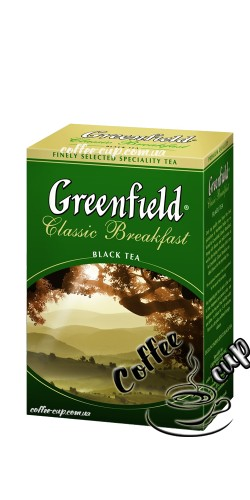 Чай Greenfield Classic Breakfast черный 100g