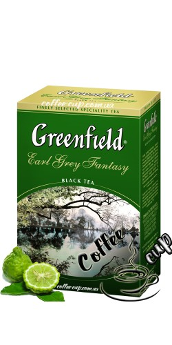 Чай Greenfield Earl Grey Fantasy черный 100g