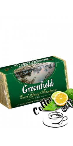 Чай Greenfield Earl Grey Fantasy чёрный 25 пак