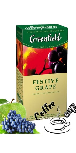 Чай Greenfield Festive Grape травяной 25 пак