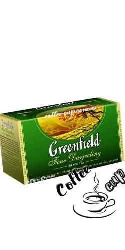 Чай Greenfield Fine Darjeeling черный 25 пак