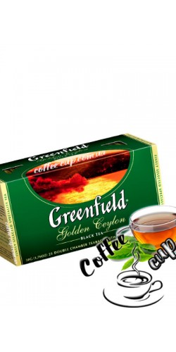 Чай Greenfield Golden Ceylon чёрный 25пак