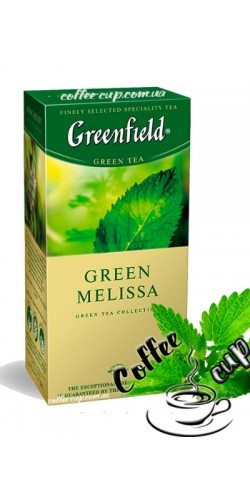 Чай Greenfield Green Melissa зеленый 25 пак
