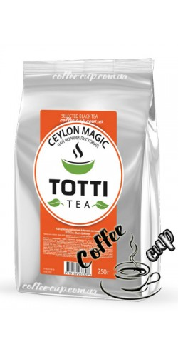 "Чай Totti Tea Ceylon Magic ""Магия Цейлона"" черный 250g"