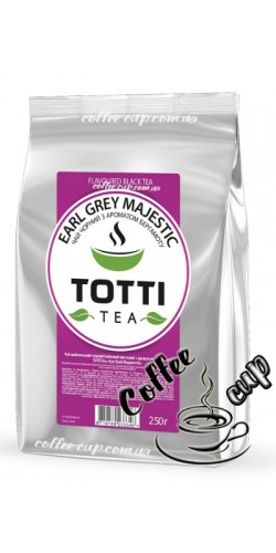 """Чай Totti Tea Earl Grey Majestic """"Эрл Грей Маджестик"""" черный 250g"""