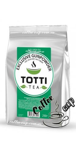"""Чай Totti Tea Exclusive Gunpowder """"Эксклюзив Ганпаудер"""" зеленый 250g"""