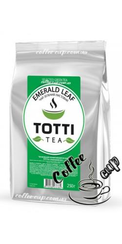 """Чай Totti Tea Emerald Leaf """"Изумрудный Лист"""" зеленый 250g"""