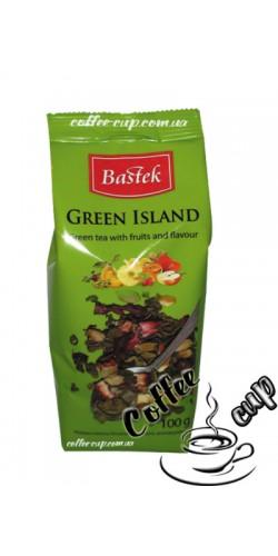 Чай Bastek Green Island зеленый 100g