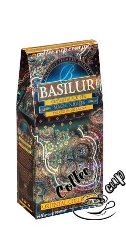 """Чай Basilur """"Magic nights"""" Магическая ночь черный 100g"""